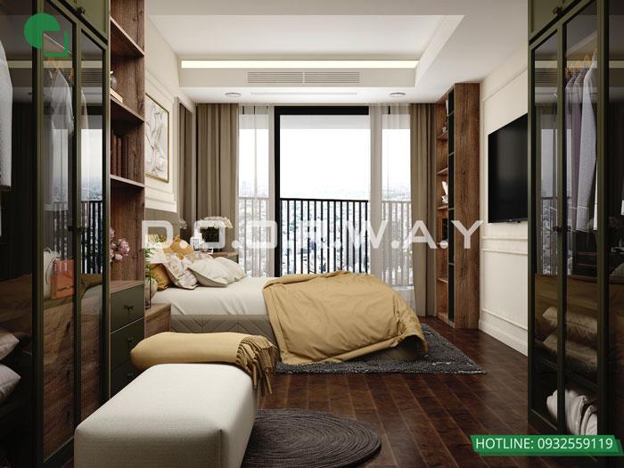 PN2 (2) - Mẫu nội thất chung cư tân cổ điển đẹp sang trọng