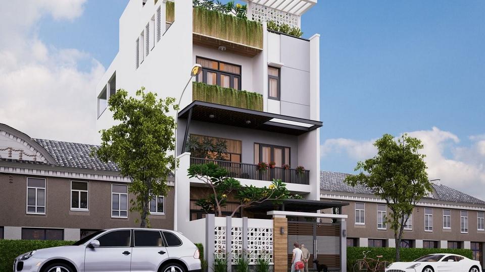 7 mẫu thiết kế nhà phố 3 tầng 5x16m đơn giản nhưng ấn tượng