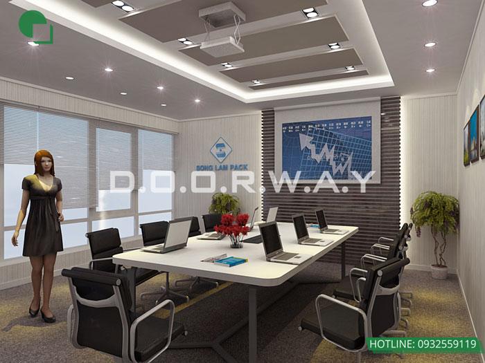 (4)Cách thiết kế phòng họp đẹp