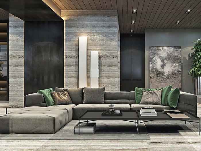 2-Thiết kế nội thất phòng khách biệt thự hiện đại: 4 lưu ý cần nhớ