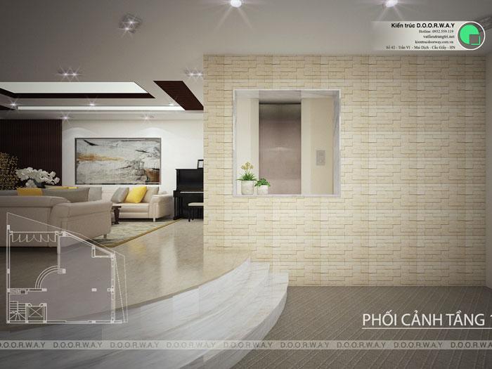 (2)Thiết kế thi công nội thất nhà ống 5 tầng