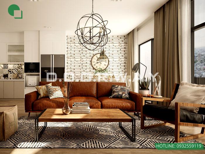 (13)Thiết kế thi công nội thất nhà ống 5 tầng