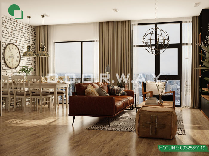 (14)Thiết kế thi công nội thất nhà ống 5 tầng