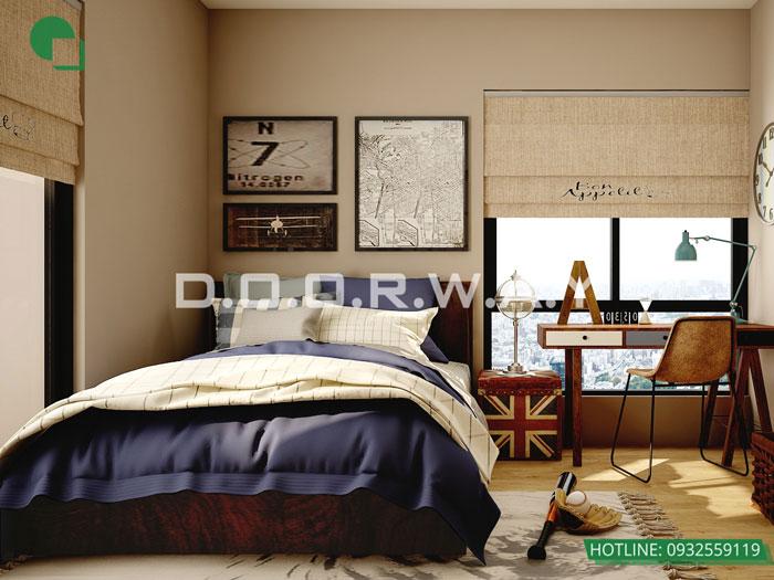 (18)Thiết kế thi công nội thất nhà ống 5 tầng