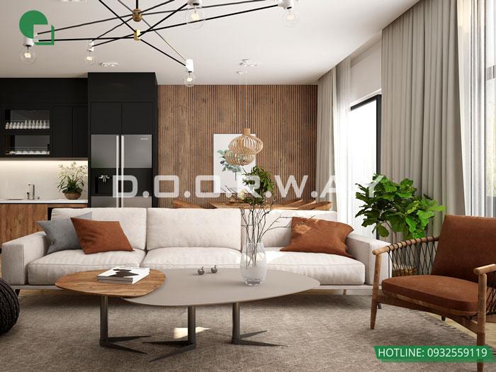 (19)Thiết kế thi công nội thất nhà ống 5 tầng