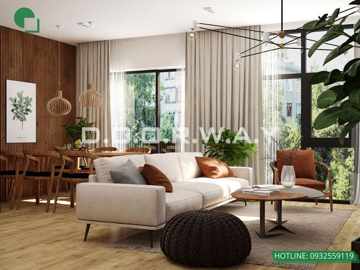 (20)Thiết kế thi công nội thất nhà ống 5 tầng