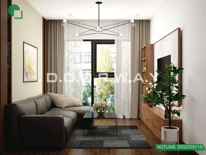 (23)Thiết kế thi công nội thất nhà ống 5 tầng