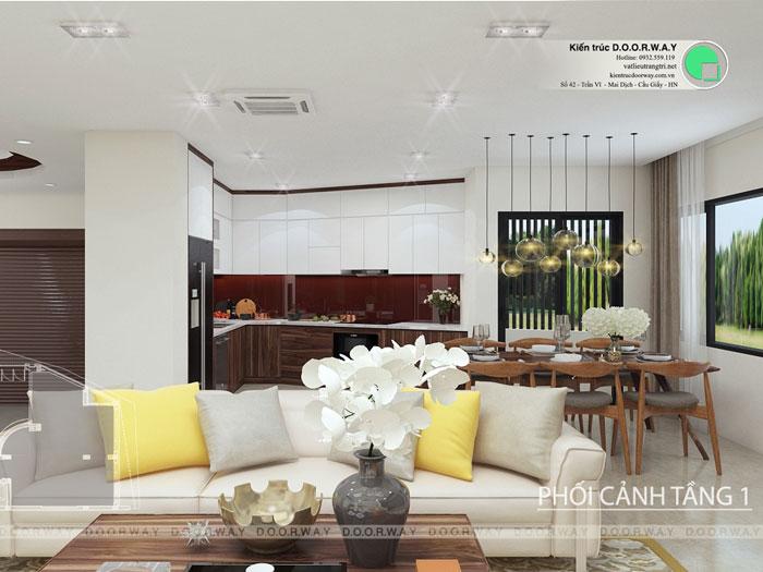 (3)Thiết kế thi công nội thất nhà ống 5 tầng