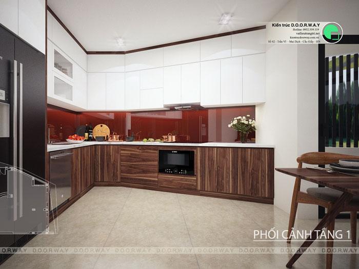 (6)Thiết kế thi công nội thất nhà ống 5 tầng