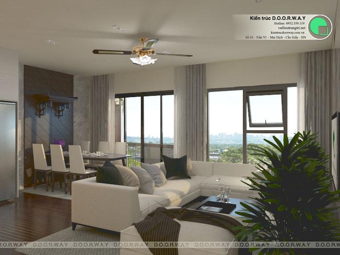 (7)Thiết kế thi công nội thất nhà ống 5 tầng