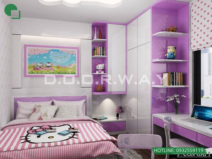 1- Cách trang trí phòng ngủ cho con gái cá tính năm 2020