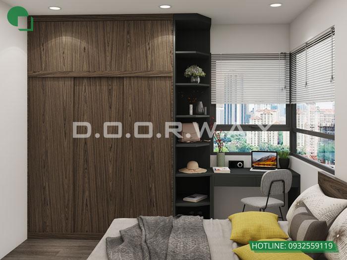 10- [HOT] Mẫu nội thất chung cư hiện đại đẹp - Căn 2PN, 3PN