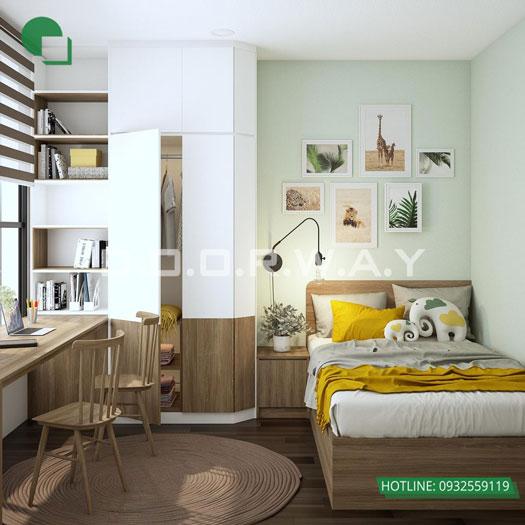 15- [HOT] Mẫu nội thất chung cư hiện đại đẹp - Căn 2PN, 3PN