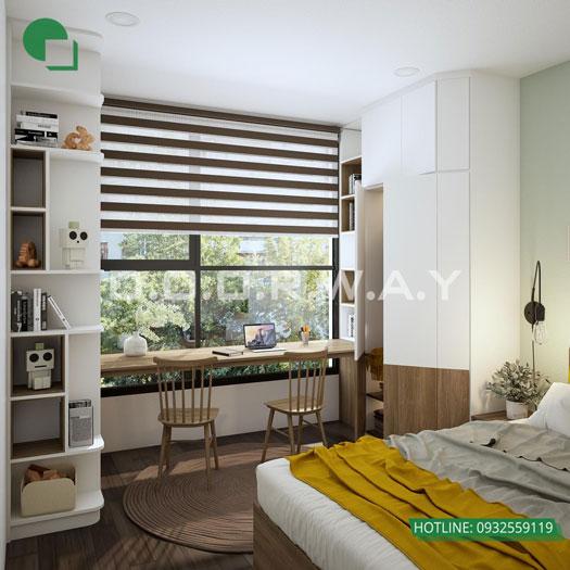 16- [HOT] Mẫu nội thất chung cư hiện đại đẹp - Căn 2PN, 3PN