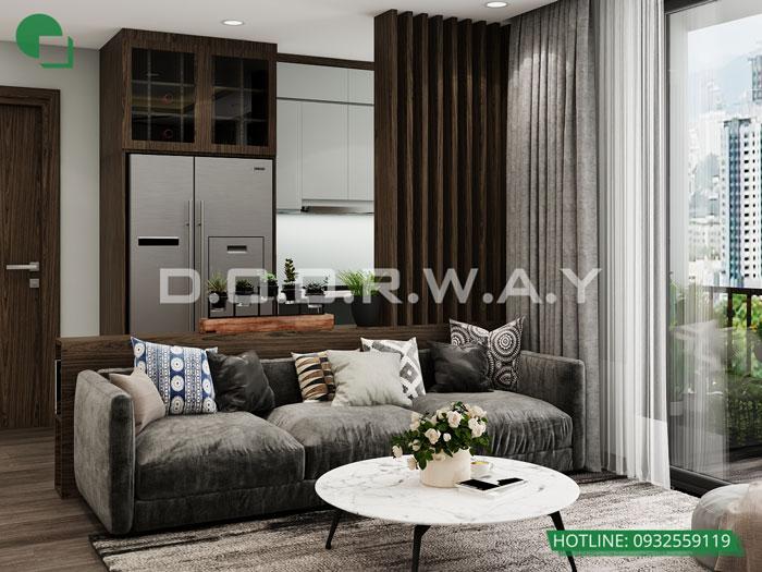 2- [HOT] Mẫu nội thất chung cư hiện đại đẹp - Căn 2PN, 3PN