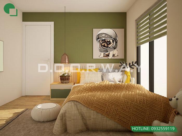 2- Cách trang trí phòng ngủ cho con gái cá tính năm 2020