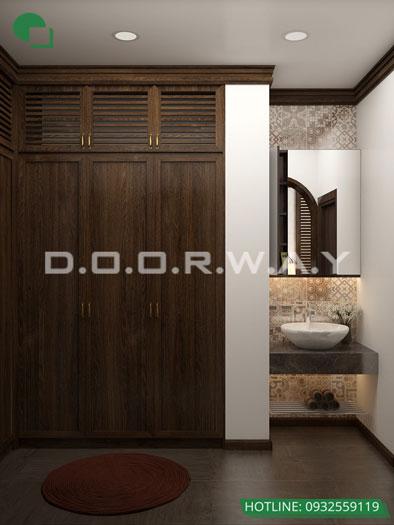 2c- Cách thiết kế phòng ngủ có phòng thay đồ đẹp sang trọng
