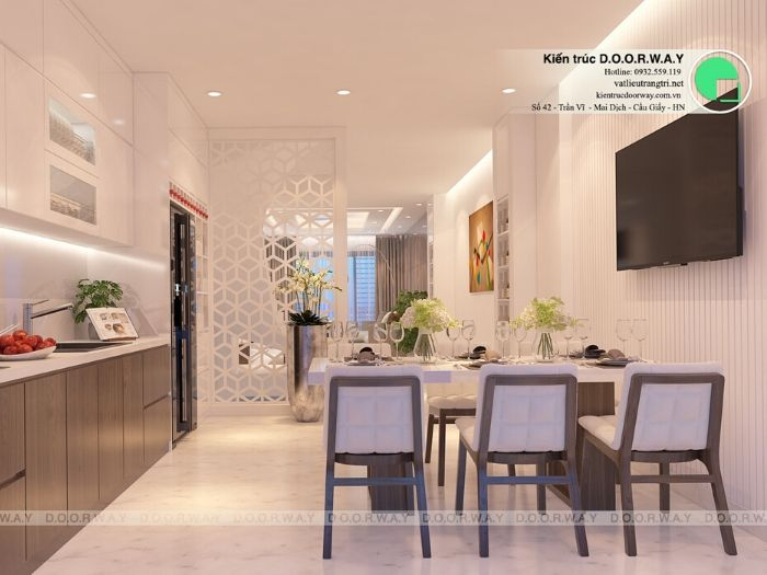 3-5 bí quyết thiết kế nội thất phòng ăn chung cư ấm cúng