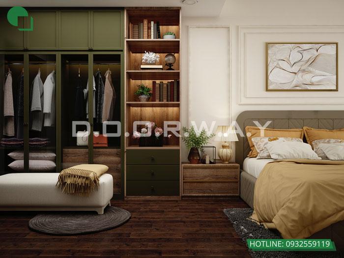 3- Cách thiết kế phòng ngủ có phòng thay đồ đẹp sang trọng