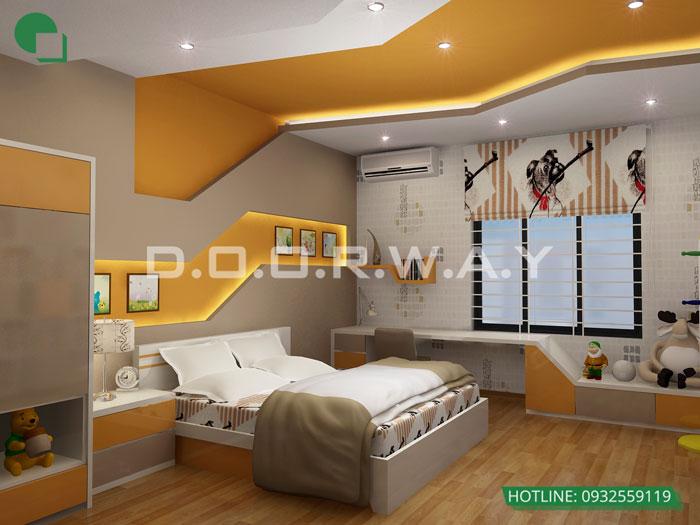 3- Cách trang trí phòng ngủ cho con gái cá tính năm 2020