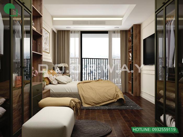 3a- Cách thiết kế phòng ngủ có phòng thay đồ đẹp sang trọng