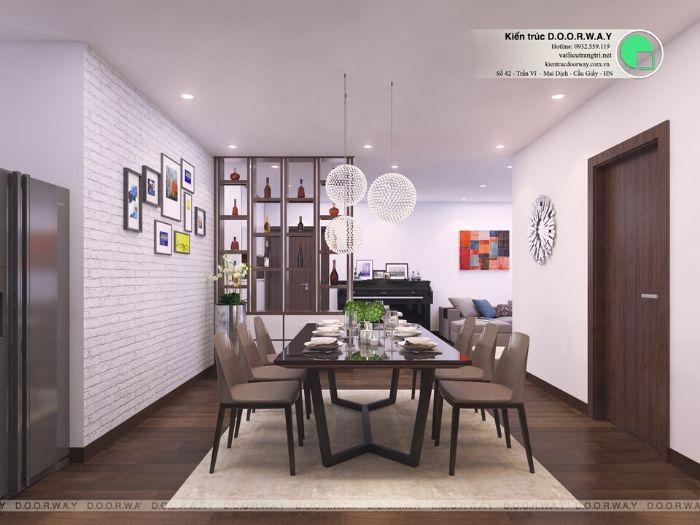 4-5 bí quyết thiết kế nội thất phòng ăn chung cư ấm cúng