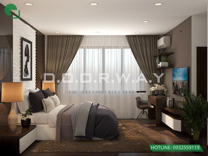 4- Cách thiết kế phòng ngủ có phòng thay đồ đẹp sang trọng