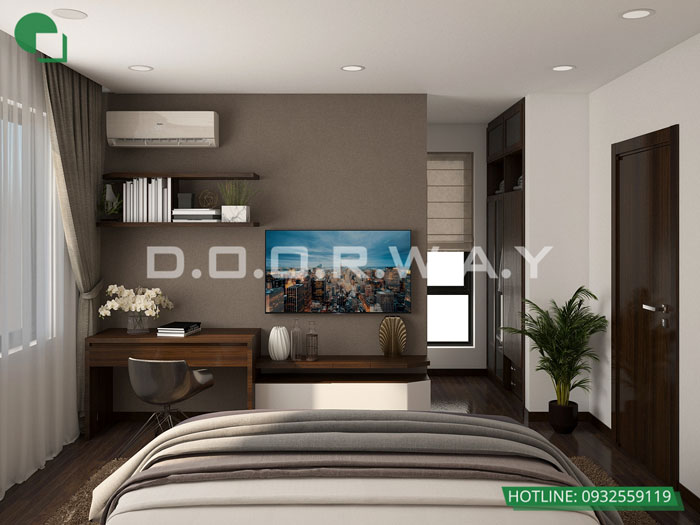 4a- Cách thiết kế phòng ngủ có phòng thay đồ đẹp sang trọng