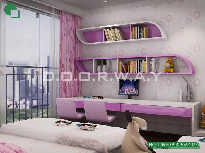 4a- Cách trang trí phòng ngủ cho con gái cá tính năm 2020