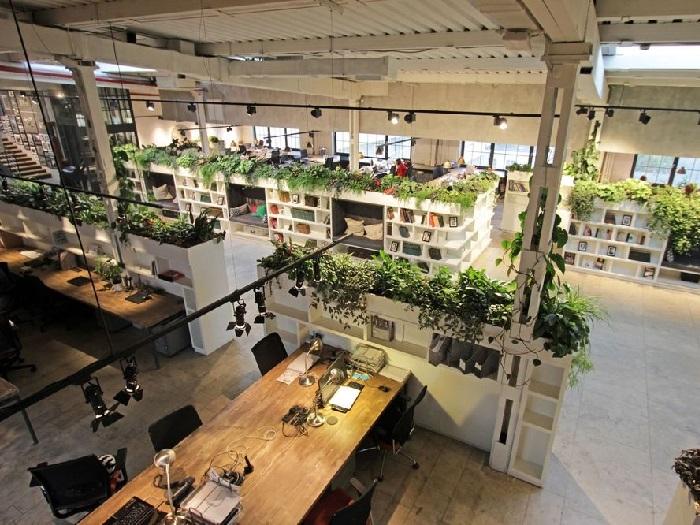 (5)Xu hướng thiết kế nội thất văn phòng cao cấp mới nhất