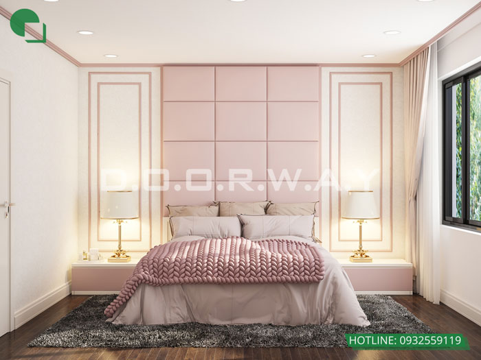 5- Cách thiết kế phòng ngủ có phòng thay đồ đẹp sang trọng