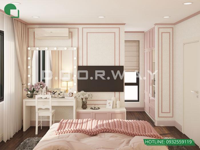 5a- Cách thiết kế phòng ngủ có phòng thay đồ đẹp sang trọng