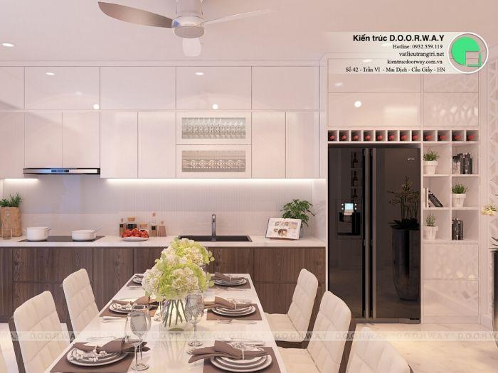 6-5 bí quyết thiết kế nội thất phòng ăn chung cư ấm cúng