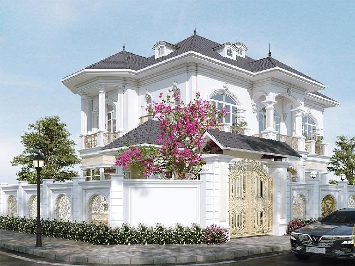 7-4 mẫu thiết kế biệt thự nhà vườn 2 tầng đẹp hút hồn