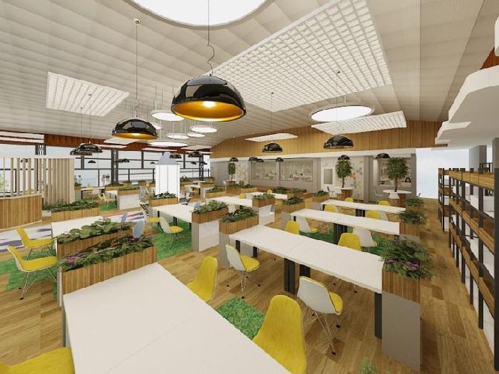 (7)Xu hướng thiết kế nội thất văn phòng cao cấp mới nhất