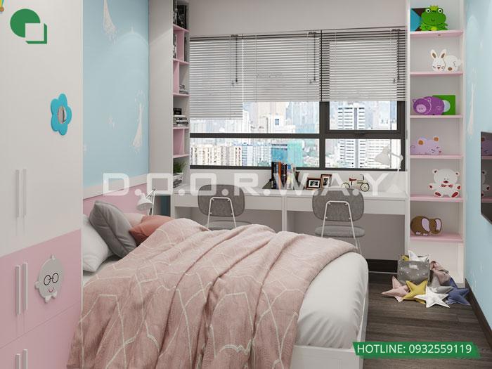 8- [HOT] Mẫu nội thất chung cư hiện đại đẹp - Căn 2PN, 3PN