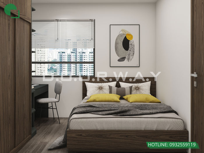 9- [HOT] Mẫu nội thất chung cư hiện đại đẹp - Căn 2PN, 3PN