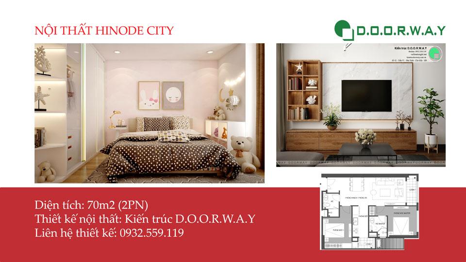 Ảnh tiêu biểu - [Xem ngay] Nội thất căn hộ 70m2 Hinode City đẹp tiện nghi