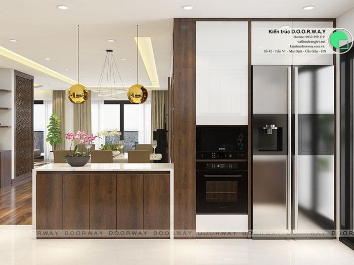 PB2 - Nội thất căn hộ 105m2 Hinode City với cách bố trí tối ưu