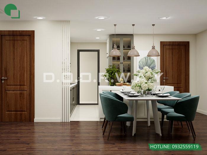 PBA1 - Gợi ý nội thất căn hộ 108m2 Manhattan Tower đẹp