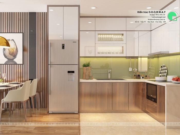 PBA1 - Vẻ đẹp hiện đại của nội thất căn hộ 125m2 Manhattan Tower