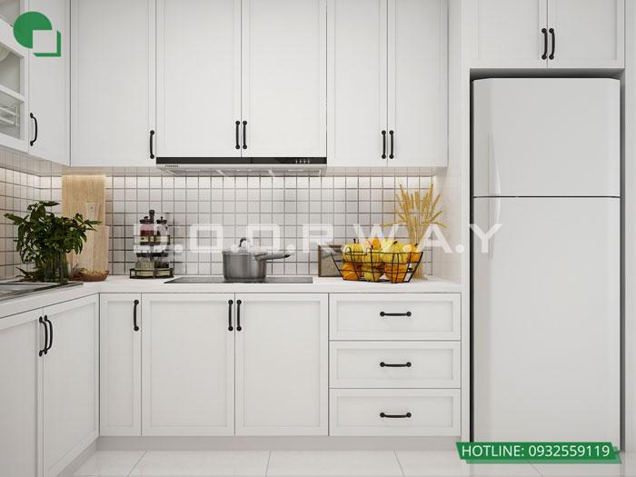PBA2 - Thiết kế nội thất căn hộ 127m2 Manhattan Tower | 2020
