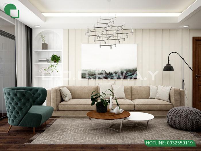 PK1 - Gợi ý nội thất căn hộ 108m2 Manhattan Tower đẹp
