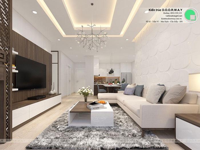 PK1 - Thiết kế nội thất căn hộ 127m2 Manhattan Tower | 2020