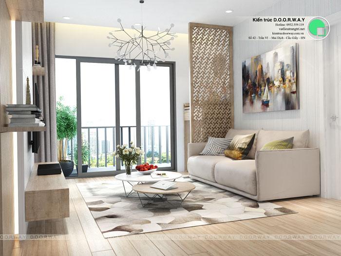 PK1 - Thiết kế nội thất chung cư Manhattan Tower | 2020