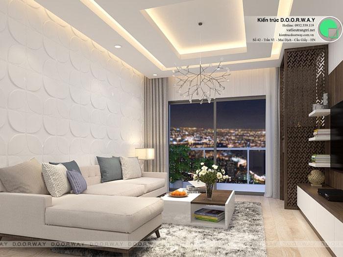 PK2 - Thiết kế nội thất căn hộ 127m2 Manhattan Tower | 2020