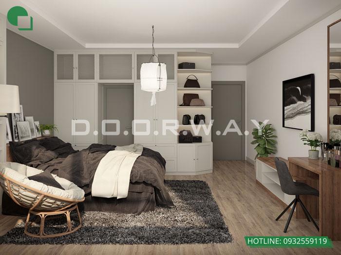 PN1(1) - Gợi ý nội thất căn hộ 108m2 Manhattan Tower đẹp