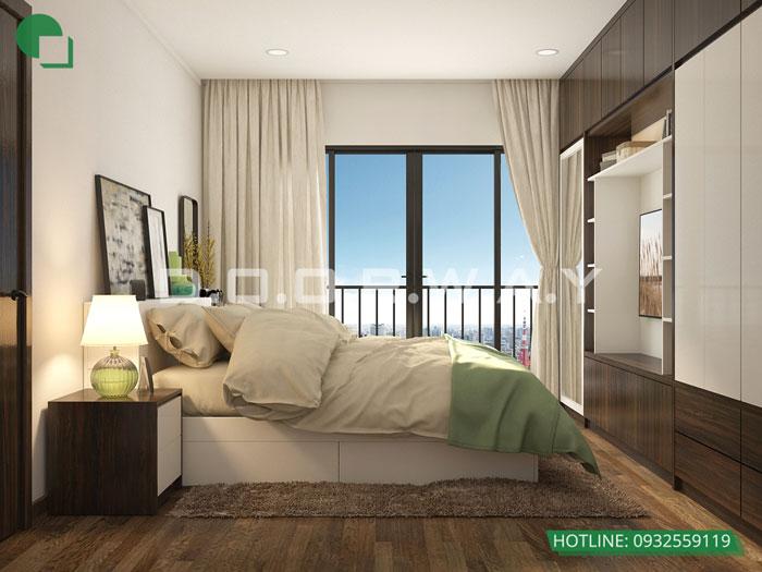 PN1(1) - Vẻ đẹp hiện đại của nội thất căn hộ 125m2 Manhattan Tower