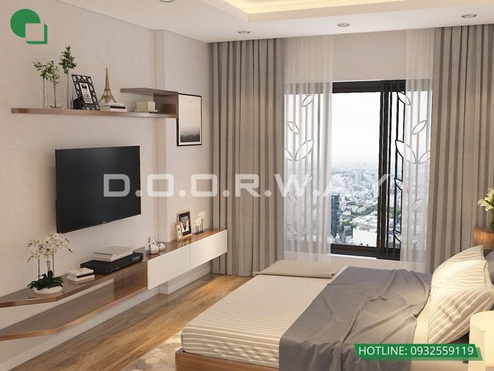 PN1(2) - Nội thất căn hộ 105m2 Hinode City với cách bố trí tối ưu