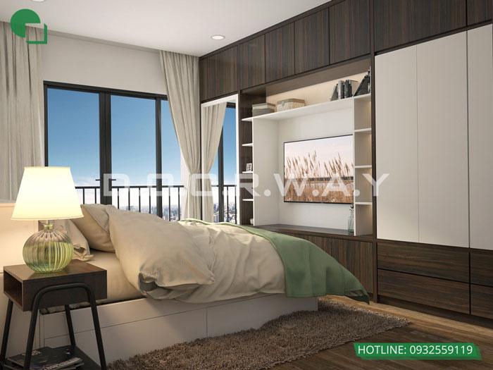 PN1(2) - Vẻ đẹp hiện đại của nội thất căn hộ 125m2 Manhattan Tower